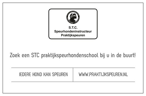 STC visitekaartje